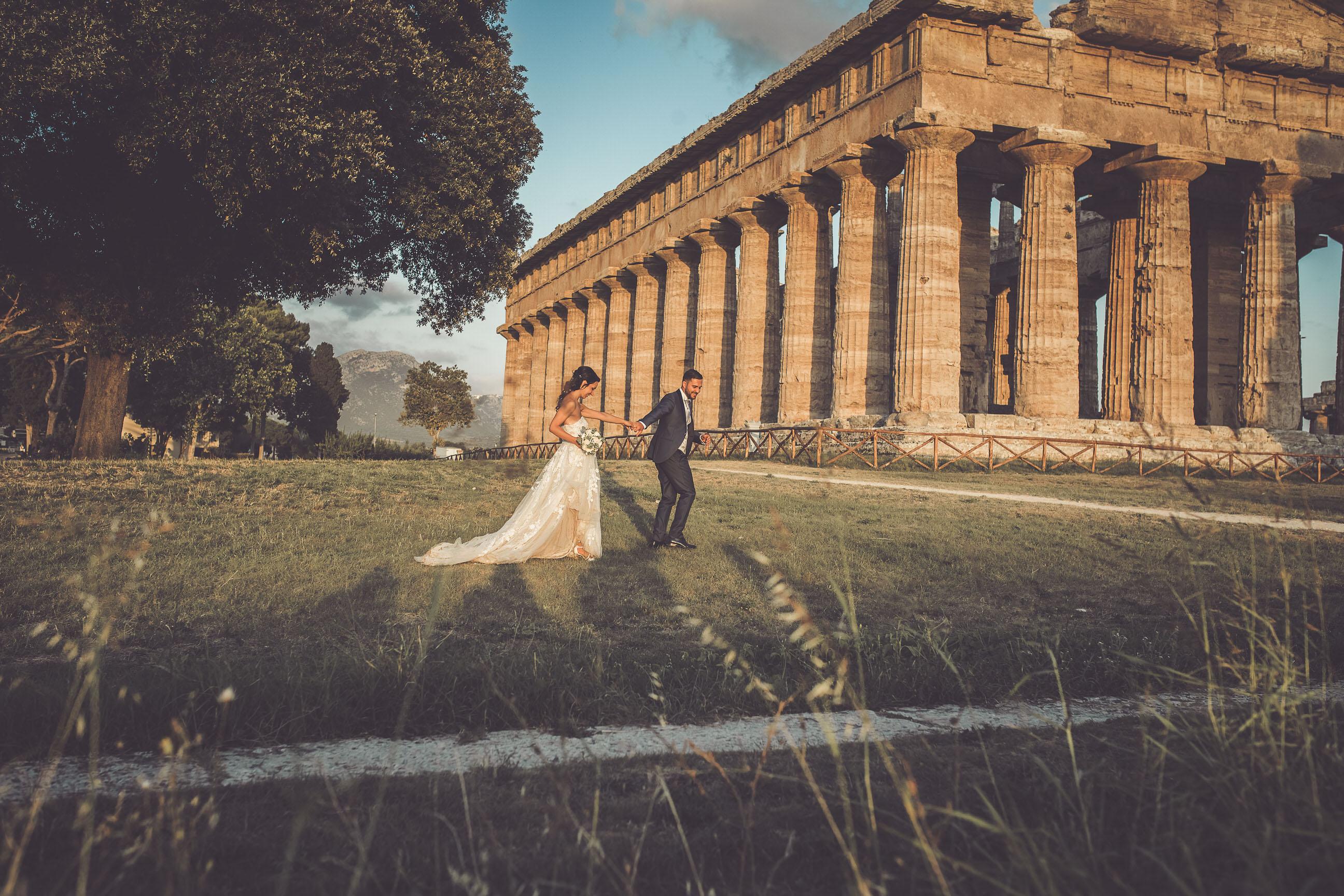 paestum fotoreportage matrimonio